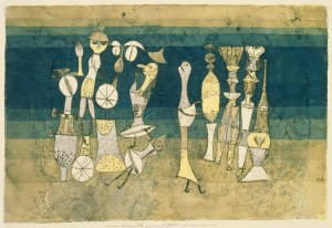Comedy, Paul Klee (1921)