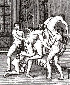 A Marquis de Sade-style orgy
