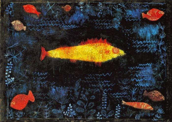 Der Goldfisch, Paul Klee (1925)