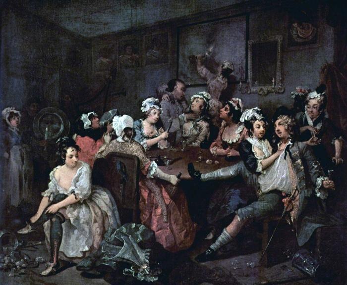 The Rake's Progress, William Hogarth