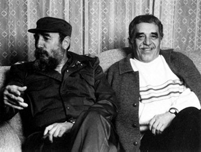With close friend Fidel Castro