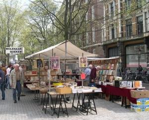 De Boeken Markt, Spui