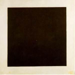 Black Square - Kazimir Malevich, 1923-29. Photograph: State Tretyakov, Moscow, Russia.