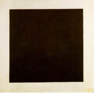 Black Square - Kazimir Malevich, 1923-29. Photograph: State Tretyakov, Moscow, Russia.